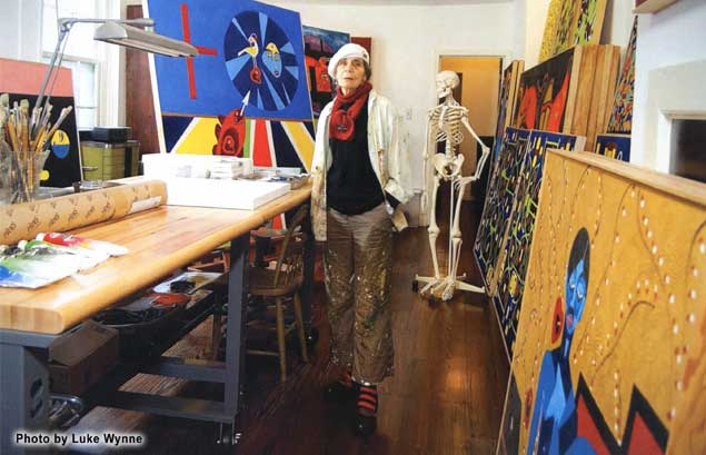 Marta Whistler Comtemporary Painter