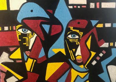 Figurative Art - 24 x 24 oil in canvas $24,000